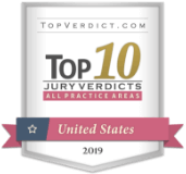 TopVerdict.com Top 10 Jury Verdicts - All Practice Areas - United States 2019